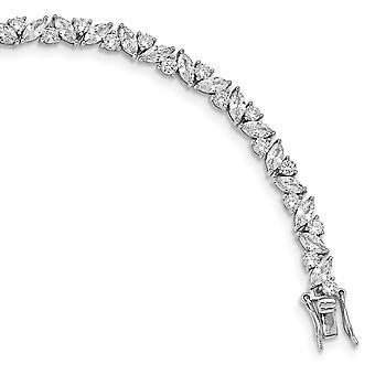 5.23mm Cheryl M 925 Sterling Zilver gepolijste armband 7,25 inch sieraden geschenken voor vrouwen - 10,8 gram