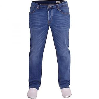 Duck and Cover Duck And Cover Mens Original Durable Loose Relaxed Comfort Fit Ultra Flex Denim Jeans