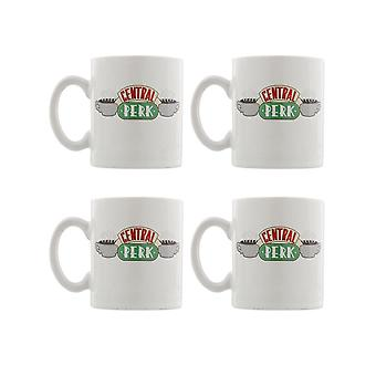 Friends, 4x Espresso Mugs