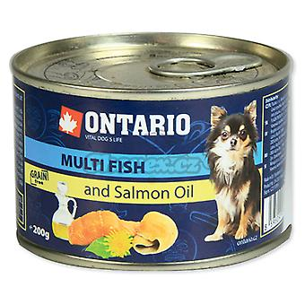 Ontario Mini Multi Fish and Salmon oil (Dogs , Dog Food , Wet Food)