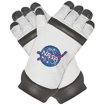 Astonaut Gloves White Adult