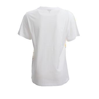Loewe S540333xar2108 Damen's weiße Baumwolle T-shirt