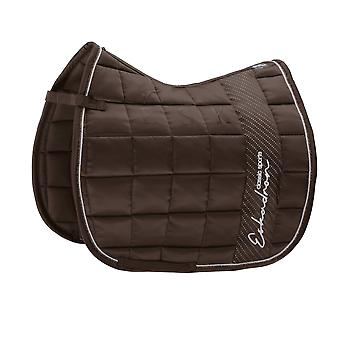 Eskadron Classic Sports Big Square Glossy Saddlecloth - Brown