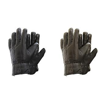 Mens Soft Sheep Skin Genuine Leather Gloves