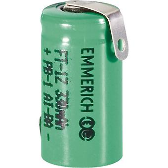 Emmerich 255008 NiMH 1/2 AAA Size 1.2V 230mAh Rechargeable Battery Tagged