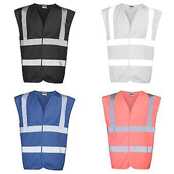 RTY amélioré Vis unisexe Salut / renforcée de visibilité Safetywear Vest Top