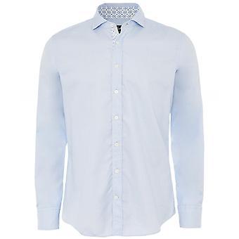 Hackett Slim Fit Kontrast Trim Shirt