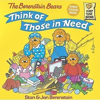Los osos de Berenstain pensar en los necesitados