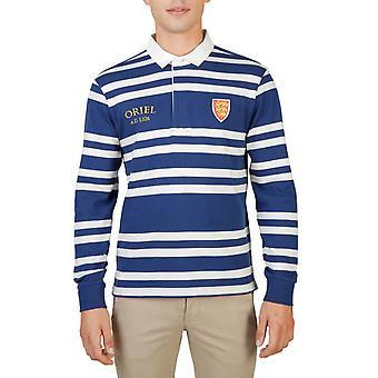 Oxford University Original Men Fall/Winter Polo - Blue Color 55702