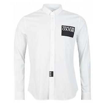 Versace Jeans Couture Patch Logo Poplin Shirt