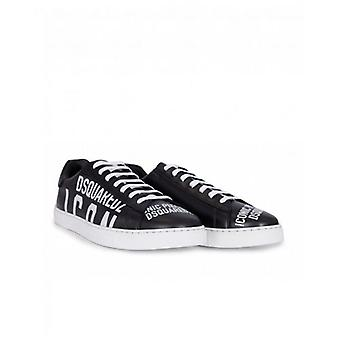 Dsquared2 Footwear New Icon Leather Trainers