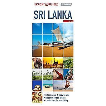 Einsicht führt Flexi Karte SriLanka (Insight Flexi Karten)
