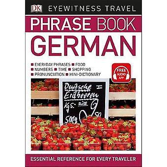 Eyewitness Travel Phrase Book German by DK - 9781465462688 Book