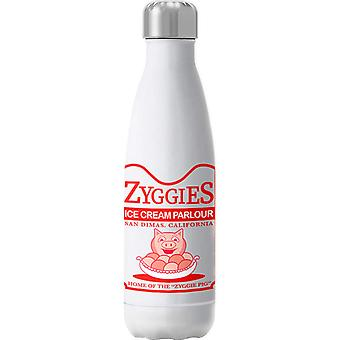 Bill And Ted Zyggies Ice Cream Parlour Insulated Stainless Steel Water Bottle