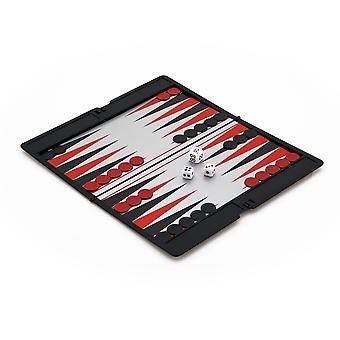 Magnetische Slimline Reizen Backgammon set