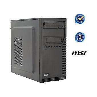 PC de escritorio iggual PSIPCH425 i3-8100 8 GB RAM 240 GB SSD W10 Negro