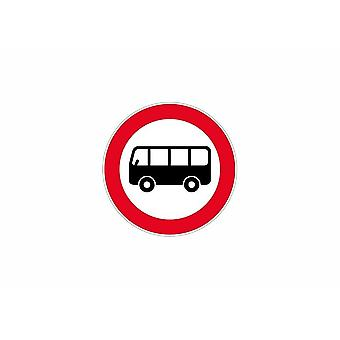 Stick stick sticker adhesive signage plate carries panel attention bus