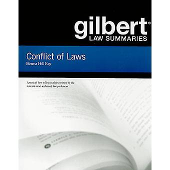 Gilbert Law Summaries on Conflict of Laws (18th Revised edition) by H