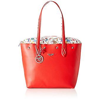 piero drive Tote Bag With Envelope Bag Red Women 21x18.5x4 cm (W x H x L)