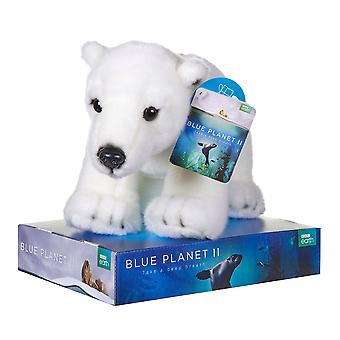 BBC Earth Plush Polar Bear 45cm