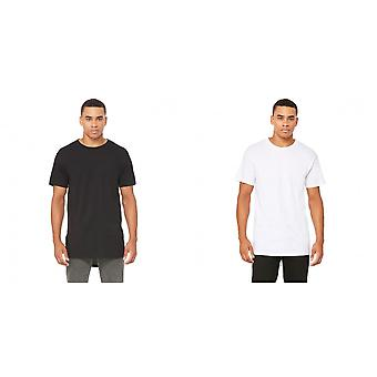Bella + Canvas Mens Long Body Urban T-Shirt