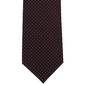 Michelsons i London Micro Dot Polyester Tie - vin