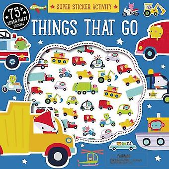 Super Sticker Activity - Things That Go by Dawn Machell - 978162686650