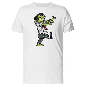 Hauska Zombie, toimisto ihminen Tee miesten-kuva: Shutterstock