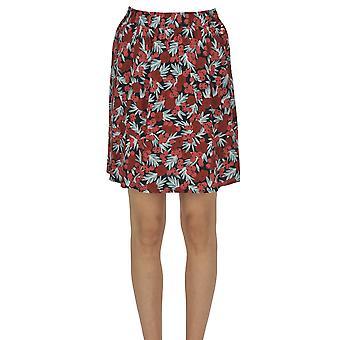 Des Petits Hauts Ezgl515001 Women's Multicolor Viscose Skirt