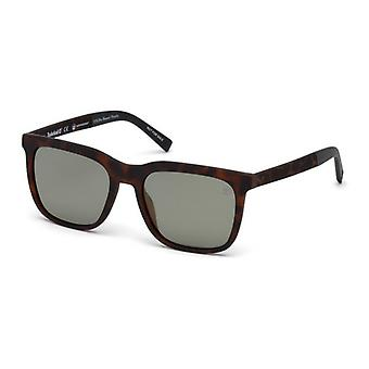 Męskie okulary przeciwsłoneczne Timberland TB9143-5753R Brown (57 Mm)