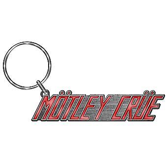 Motley Crue Keyring Keychain classic Band Logo new Official Metal