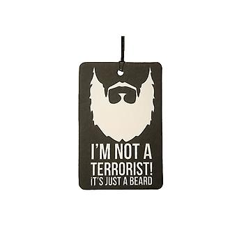 Ik ben niet een terroristische luchtverfrisser