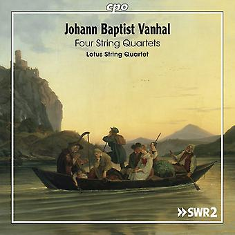 Vanhal / Lotus Str Qrt - Str Qrts [CD] USA import