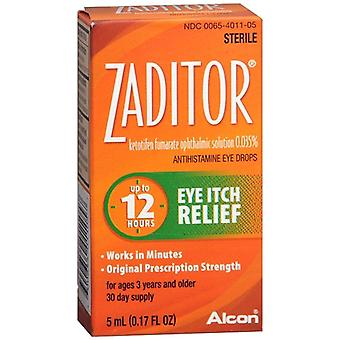 Zaditor eye itch relief drops, 0.17 oz