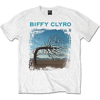 Biffy Clyro Opposites White Official Tee T-Shirt Mens Unisex