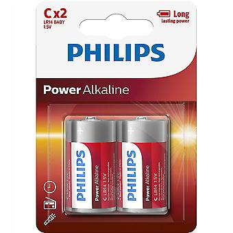 Power Alcalin C LR14 2-pack