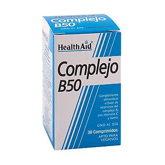 Monimutkainen B50 30 tablettia