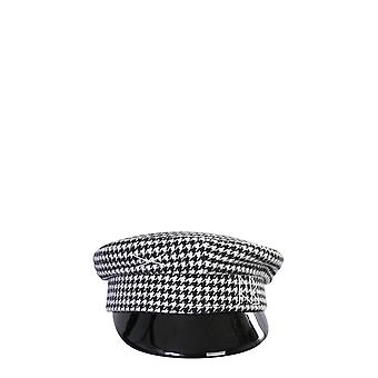 Ruslan Baginskiy Kpc026wcaglmmulti Women's White/black Wool Hat