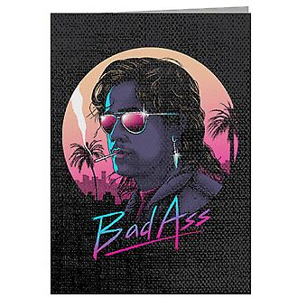 Bad Ass Billy Hargrove Stranger Things Greeting Card