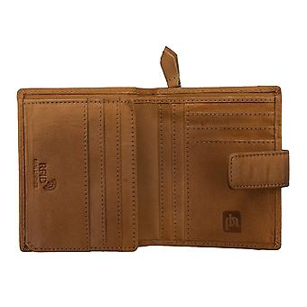 Primehide Womens Small Leather Purse Wallet RFID Blocking Ladies 6266