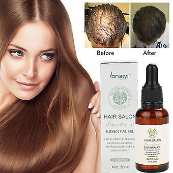 Olio essenziale per la crescita dei capelli - L'essenza che cresce rapidamente i capelli prevengono la perdita di capelli che alimenta il siero