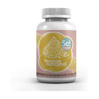 Nutritional Yeast Selenium 500 mg 60 tablets of 500mg