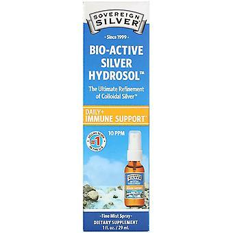 Sovereign Silver, Bio-Active Silver Hydrosol, Fine Mist Spray, 10 ppm, 1 fl oz (