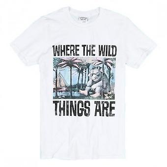 Where The Wild Things Are Adults Unisex Adults Book Cover T-Shirt