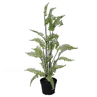 70cm künstliche Silber Blatt Farn Laub Pflanze