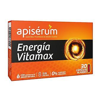 Apiserum Energia Vitamax 30 كبسولة