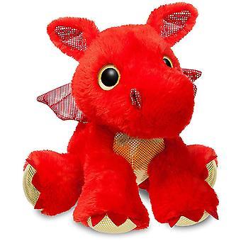 Aurora Sparkle Tales Sizzle Red Dragon 30.5cm