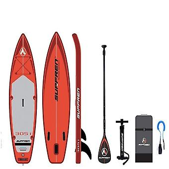 Inflatable surf stand up sup paddle board wake boat bodyboard kayak boat 305*81*15cm