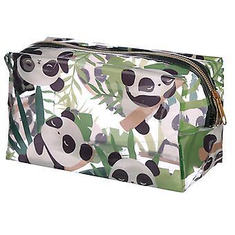 Sac de lavage en PVC transparent pratique - Panda Design X 1 Pack