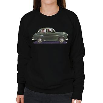 Austin A35 Green British Motor Heritage Women's Sweatshirt